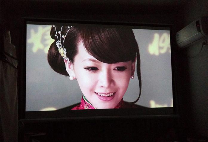 高清200寸投影 影院效果级别 LED
